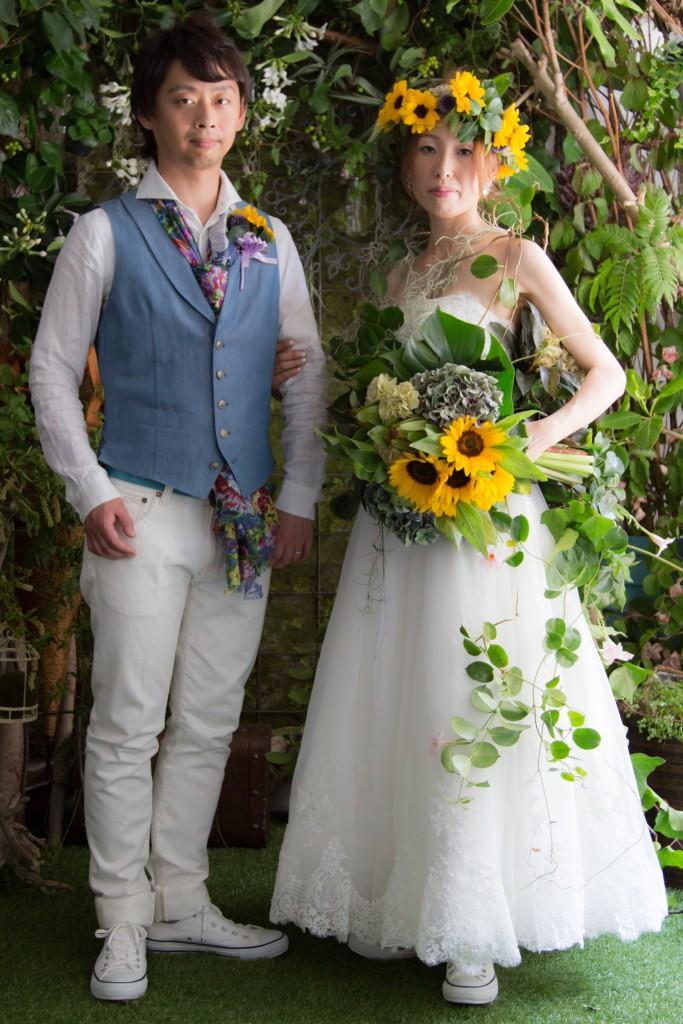 結婚写真 後撮り